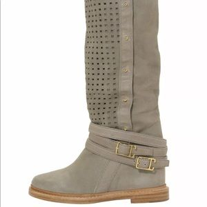 Monika Chiang Suede Perforated boots size 40